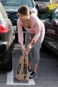 Sophia Bush (6 HQ)  Dowblouse y Leggins.Hollywood, 28 Febrero 2012