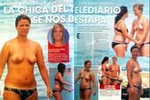 María Casado Pillada En Topless, Formentera
