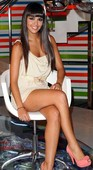 Cristina Pedroche Sentada Con Minivestido